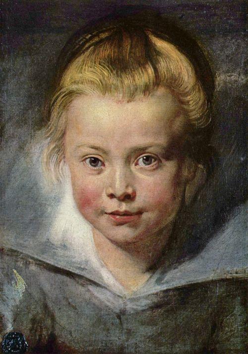 r-portrait of clara rubens s