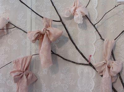 桜の染色(桜の枝)