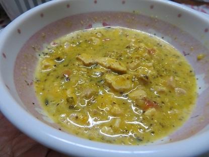 冬至のワンご飯・カボチャスープ