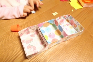 折り紙弁当2