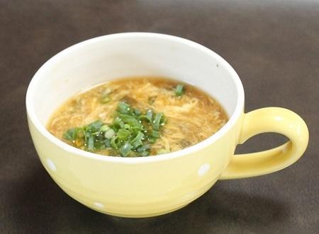 1 ふわとろあさり昆布卵スープ 450