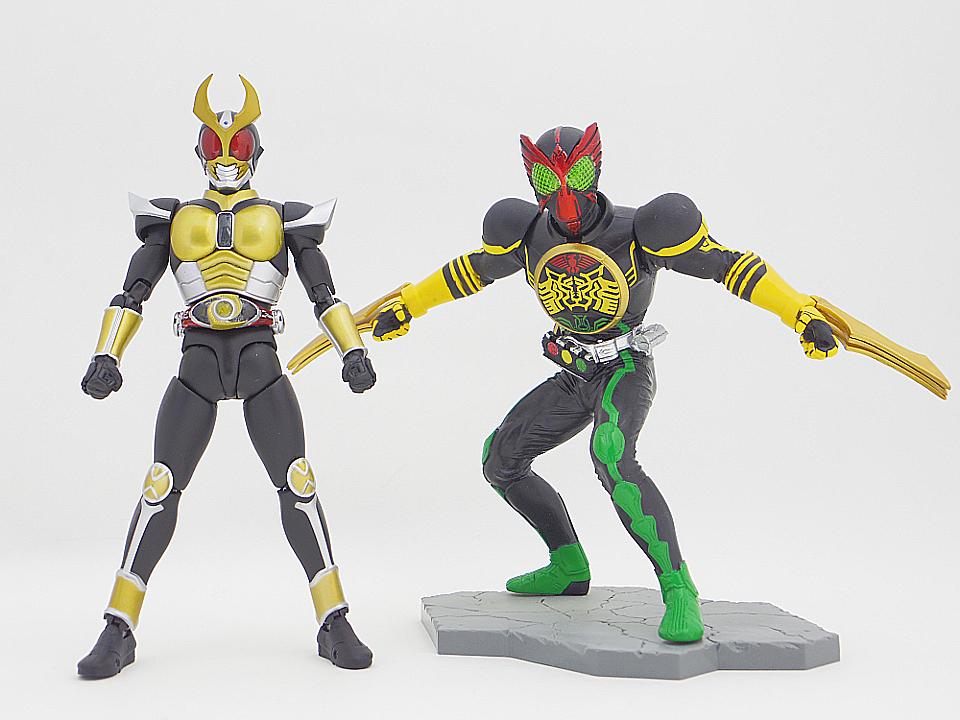versus riders オーズ9