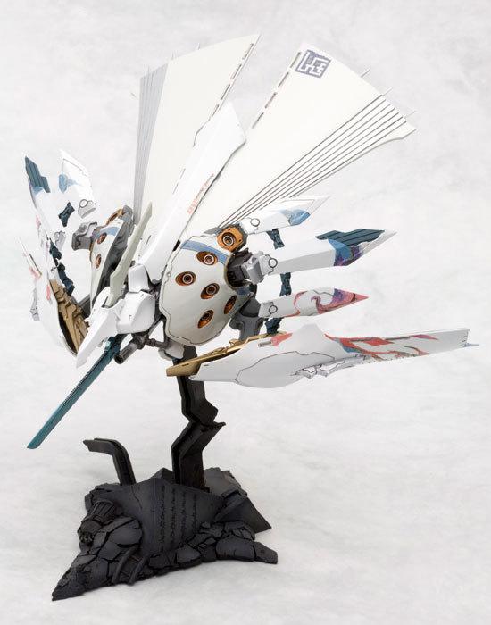 斑鳩 飛鉄塊 銀鶏[白] プラモデルTOY-SCL2-12486_01