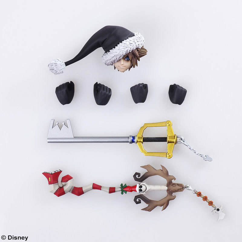 BRING ARTS KINGDOM HEARTS II ソラ クリスマスタウンVFIGURE-042519_07