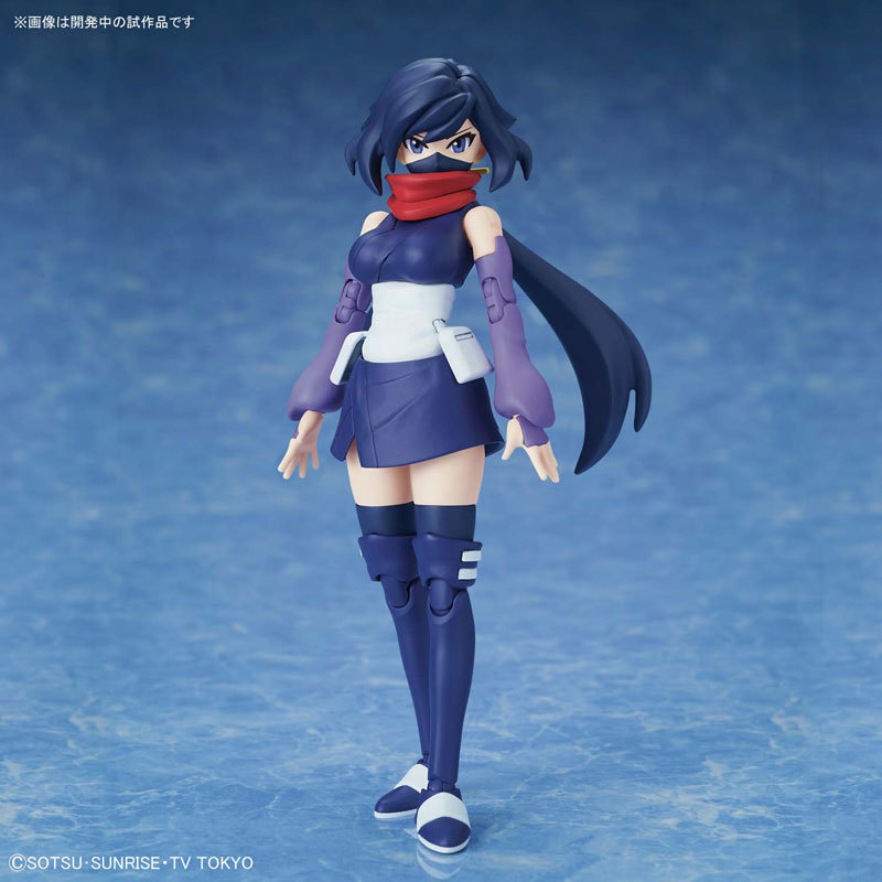 Figure-rise Standard BUILD DIVERS ダイバーアヤメ プラモデルTOY-GDM-3937_01