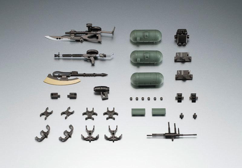 ROBOT魂 〈SIDE MS〉 ジオン軍武器セットFIGURE-043789_01