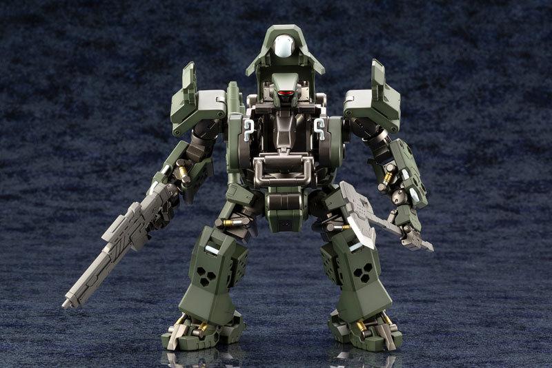 ヘキサギア 124 バルクアームα 密林戦仕様 キットブロックTOY-RBT-4709_05