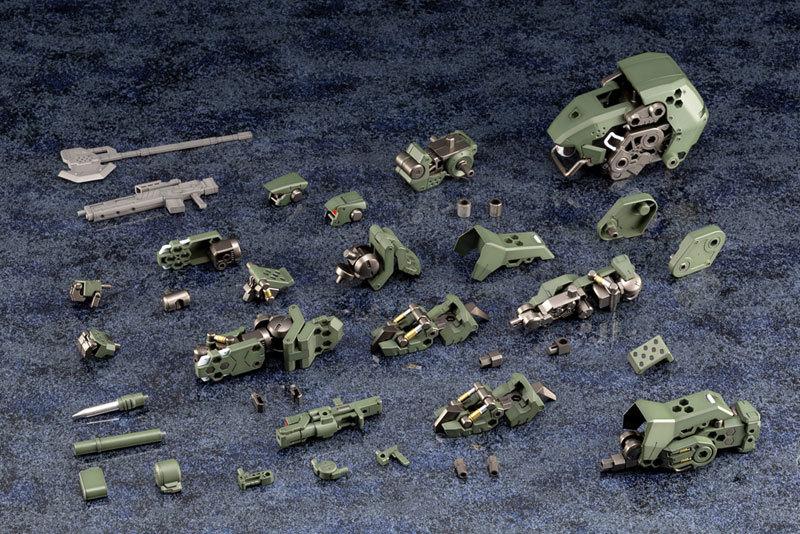 ヘキサギア 124 バルクアームα 密林戦仕様 キットブロックTOY-RBT-4709_06