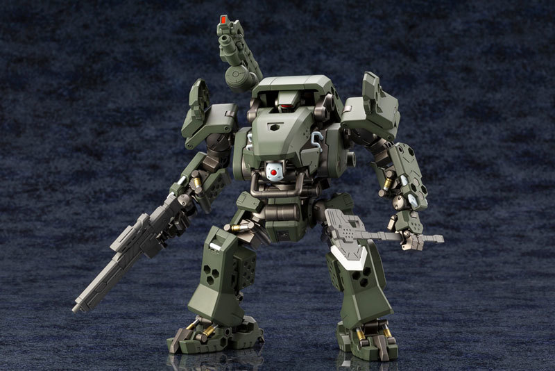 ヘキサギア 124 バルクアームα 密林戦仕様 キットブロックTOY-RBT-4709_01