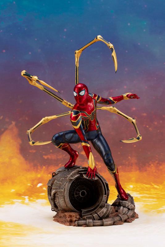 ARTFX_ Avengers: Infinity War アイアン・スパイダー -INFINITY WAR- 110 簡易組立キットFIGURE-043055_01