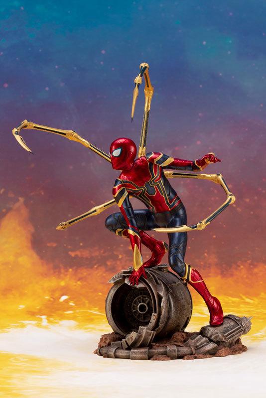 ARTFX_ Avengers: Infinity War アイアン・スパイダー -INFINITY WAR- 110 簡易組立キットFIGURE-043055_02