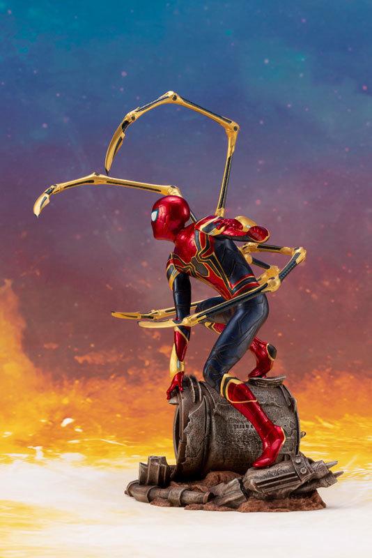 ARTFX_ Avengers: Infinity War アイアン・スパイダー -INFINITY WAR- 110 簡易組立キットFIGURE-043055_03