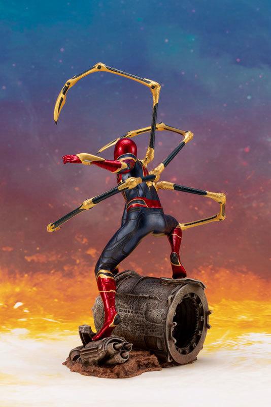 ARTFX_ Avengers: Infinity War アイアン・スパイダー -INFINITY WAR- 110 簡易組立キットFIGURE-043055_04