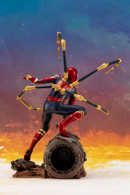 ARTFX_ Avengers: Infinity War アイアン・スパイダー -INFINITY WAR- 110 簡易組立キットFIGURE-043055_05