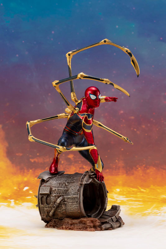 ARTFX_ Avengers: Infinity War アイアン・スパイダー -INFINITY WAR- 110 簡易組立キットFIGURE-043055_06