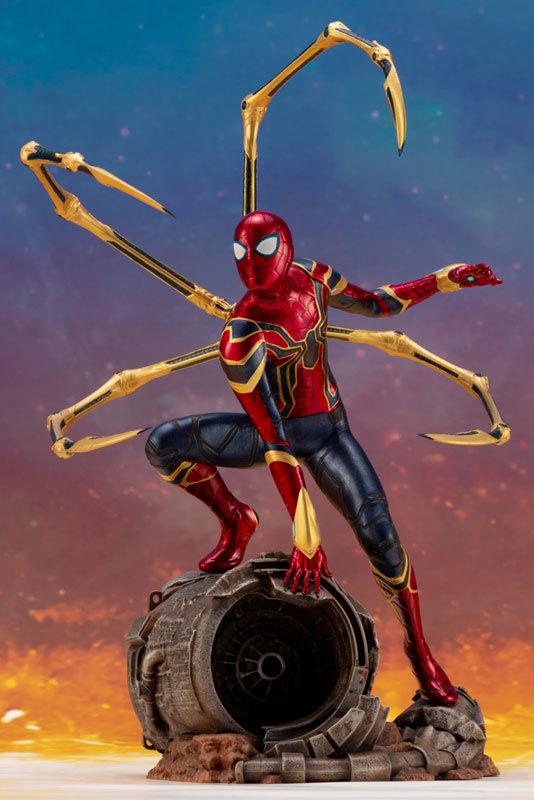 ARTFX_ Avengers: Infinity War アイアン・スパイダー -INFINITY WAR- 110 簡易組立キットFIGURE-043055_07