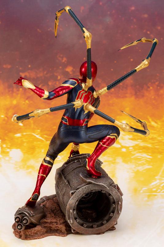 ARTFX_ Avengers: Infinity War アイアン・スパイダー -INFINITY WAR- 110 簡易組立キットFIGURE-043055_08
