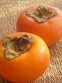頂いた柿を撮る3