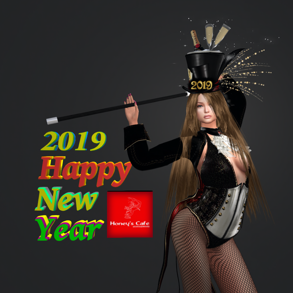 2019 New year card from Honey Amaranth