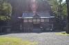 闘鶏神社拝殿