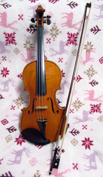 愛器ヴァイオリン