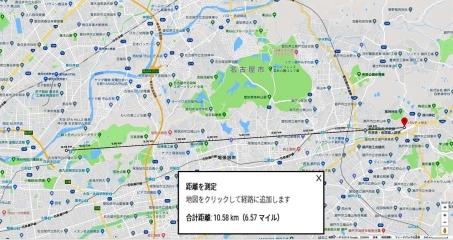 ラジオサンキュー方位距離(2)