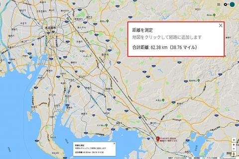 FM豊橋経路距離