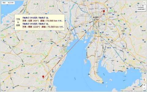 FM三重789方位距離
