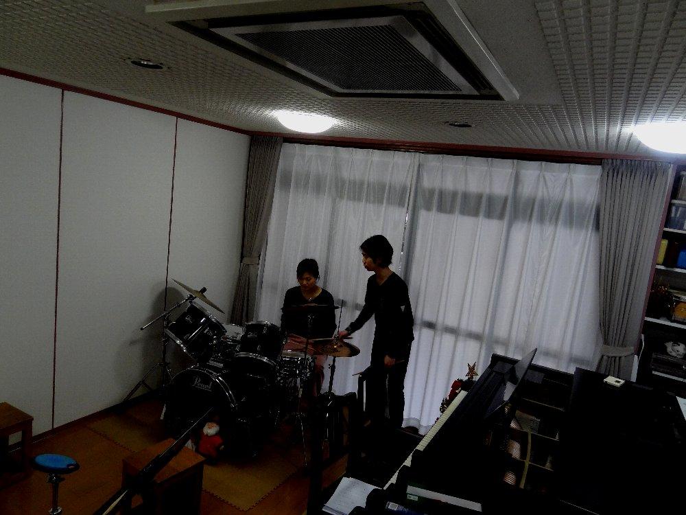 大人のドラムレッスン