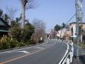 安行 1244-8 矢倉稲荷前・吉場安行東京線北を見る C