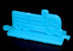 コリス フエラムネのおまけ トラックスタンプ(青)