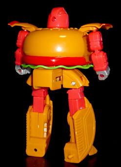 机战奇兵 美食机器人 汉堡