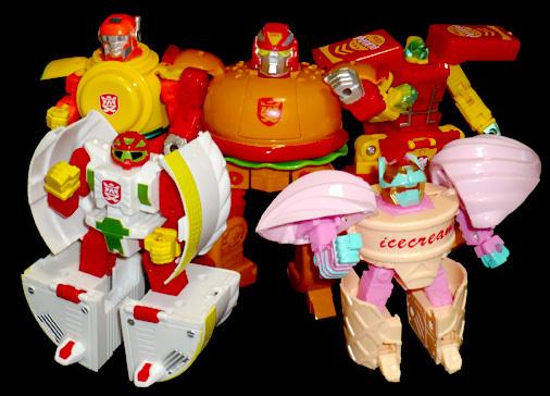 机战奇兵 美食机器人