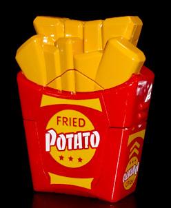 机战奇兵 美食机器人 薯条