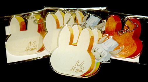 メイドインアビス×兎座LEPUS 第2層 もっと兎座ナナチ ウサギ食パン アクリルキーホルダー 001