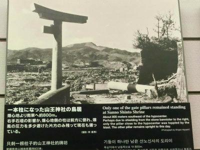 山王神社の鳥居説明