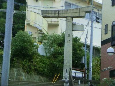 山王神社の鳥居