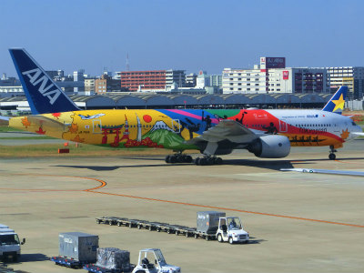 TOKYO2020飛行機
