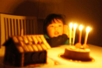 2018年しゅうわ4歳誕生日