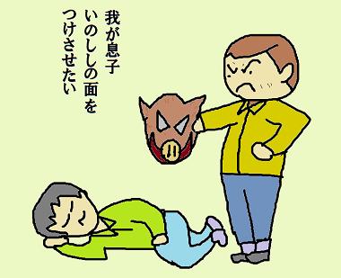 川柳 31年1月 題詠 亥 面 はつお 3