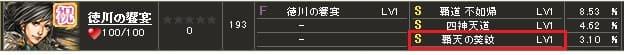 徳川の饗宴S1