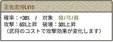 王佐Lv10
