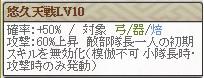 天 蘆名Lv