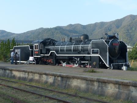 旧 大社駅 D51蒸気機関車 1