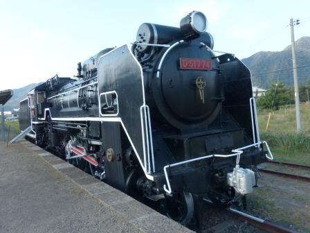 旧 大社駅 D51蒸気機関車 2