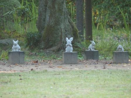 出雲大社 うさぎの石像 1