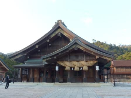出雲大社 拝殿 1