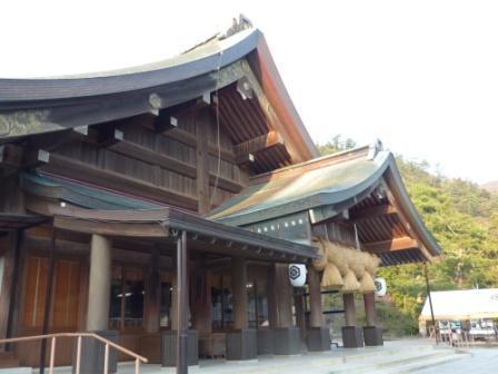 出雲大社 拝殿 2