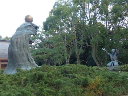 出雲大社 ムスビの御神像 1