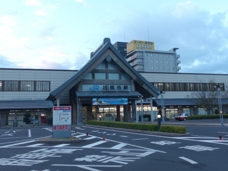 JR出雲市駅 北口 (早朝) 1